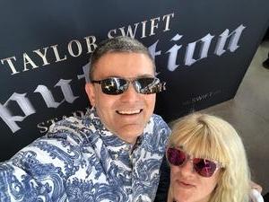 EJ attended Taylor Swift Reputation Stadium Tour on May 8th 2018 via VetTix