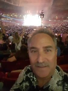 Raymond attended Taylor Swift Reputation Stadium Tour on May 8th 2018 via VetTix
