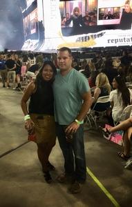 Jared attended Taylor Swift Reputation Stadium Tour on May 8th 2018 via VetTix