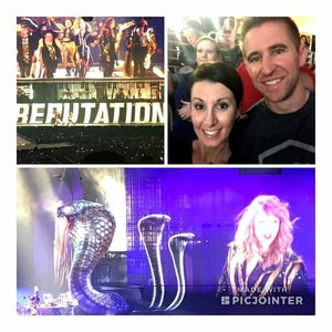 Michael attended Taylor Swift Reputation Stadium Tour on May 8th 2018 via VetTix