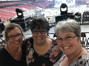 Kelly attended Taylor Swift Reputation Stadium Tour on May 8th 2018 via VetTix