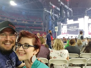 justin attended Taylor Swift Reputation Stadium Tour on May 8th 2018 via VetTix