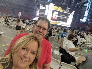 Marie attended Taylor Swift Reputation Stadium Tour on May 8th 2018 via VetTix