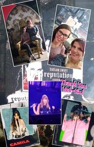 Ryan attended Taylor Swift Reputation Stadium Tour on May 8th 2018 via VetTix
