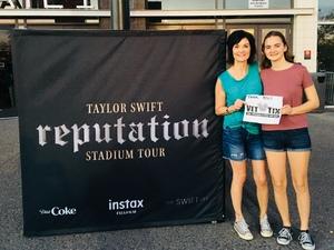 Bowen Family attended Taylor Swift Reputation Stadium Tour on May 8th 2018 via VetTix