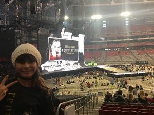 Gerald attended Taylor Swift Reputation Stadium Tour on May 8th 2018 via VetTix