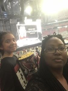 LaKieta attended Taylor Swift Reputation Stadium Tour on May 8th 2018 via VetTix