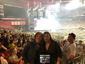 Wendy attended Taylor Swift Reputation Stadium Tour on May 8th 2018 via VetTix