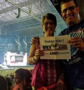Robert attended Taylor Swift Reputation Stadium Tour on May 8th 2018 via VetTix