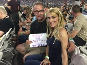 Erik attended Taylor Swift Reputation Stadium Tour on May 8th 2018 via VetTix