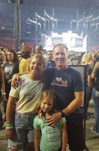 Mark attended Taylor Swift Reputation Stadium Tour on May 8th 2018 via VetTix