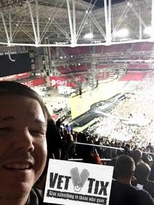 Glenn attended Taylor Swift Reputation Stadium Tour on May 8th 2018 via VetTix