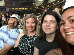 Evyn attended Taylor Swift Reputation Stadium Tour on May 8th 2018 via VetTix