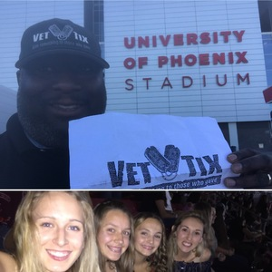 John Graves attended Taylor Swift Reputation Stadium Tour on May 8th 2018 via VetTix