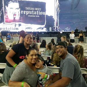Alysea attended Taylor Swift Reputation Stadium Tour on May 8th 2018 via VetTix