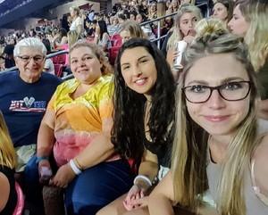 Alan attended Taylor Swift Reputation Stadium Tour on May 8th 2018 via VetTix