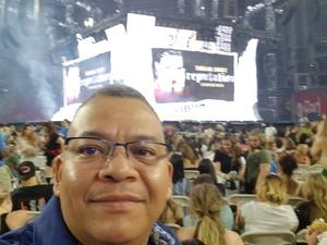 Gerardo attended Taylor Swift Reputation Stadium Tour on May 8th 2018 via VetTix