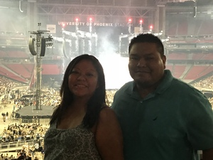 Brandon attended Taylor Swift Reputation Stadium Tour on May 8th 2018 via VetTix