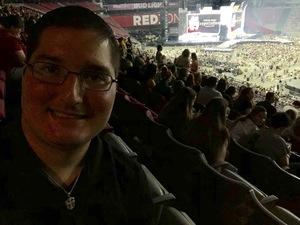 David attended Taylor Swift Reputation Stadium Tour on May 8th 2018 via VetTix