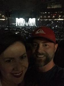 nathan attended Taylor Swift Reputation Stadium Tour on May 8th 2018 via VetTix