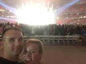 Jessica attended Taylor Swift Reputation Stadium Tour on May 8th 2018 via VetTix