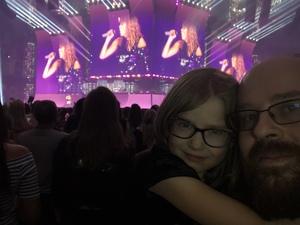 James attended Taylor Swift Reputation Stadium Tour on May 8th 2018 via VetTix