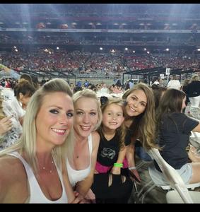 Joshua attended Taylor Swift Reputation Stadium Tour on May 8th 2018 via VetTix