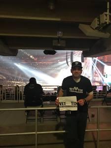 Edwin attended Taylor Swift Reputation Stadium Tour on May 8th 2018 via VetTix