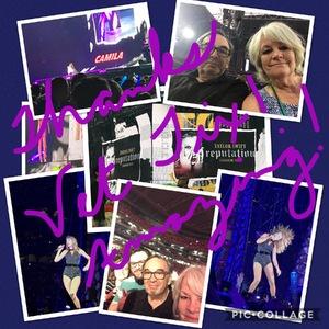 Harry attended Taylor Swift Reputation Stadium Tour on May 8th 2018 via VetTix