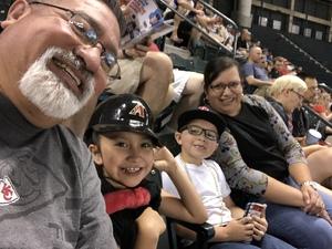 Mark attended Arizona Diamondbacks vs. Washington Nationals - MLB on May 10th 2018 via VetTix
