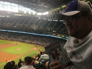 Joshua attended Arizona Diamondbacks vs. Washington Nationals - MLB on May 10th 2018 via VetTix