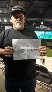 Robert attended Arizona Diamondbacks vs. Washington Nationals - MLB on May 10th 2018 via VetTix