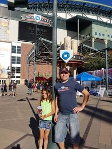 eric attended Arizona Diamondbacks vs. Washington Nationals - MLB on May 13th 2018 via VetTix