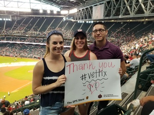 Clair attended Arizona Diamondbacks vs. Washington Nationals - MLB on May 13th 2018 via VetTix