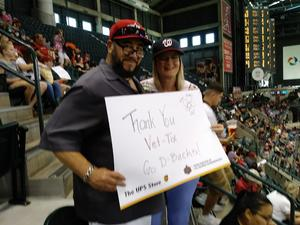 Mel Lo attended Arizona Diamondbacks vs. Washington Nationals - MLB on May 13th 2018 via VetTix
