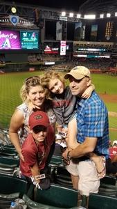 Brian attended Arizona Diamondbacks vs. Washington Nationals - MLB on May 13th 2018 via VetTix