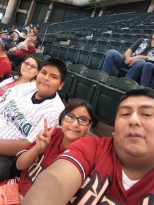 Darren attended Arizona Diamondbacks vs. Washington Nationals - MLB on May 13th 2018 via VetTix