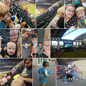Carl attended Arizona Diamondbacks vs. Washington Nationals - MLB on May 13th 2018 via VetTix
