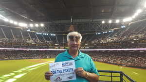David attended Arizona Diamondbacks vs. Washington Nationals - MLB on May 13th 2018 via VetTix