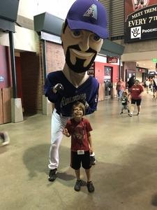 Justin attended Arizona Diamondbacks vs. Washington Nationals - MLB on May 13th 2018 via VetTix