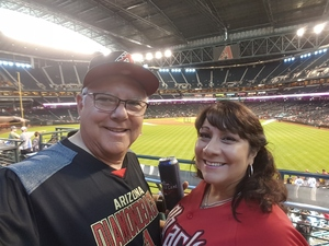 Nicolas attended Arizona Diamondbacks vs. Washington Nationals - MLB on May 13th 2018 via VetTix