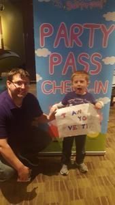 Isaac attended Peppa Pig Live Peppa Pig's Surprise! on May 12th 2018 via VetTix