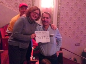 Marcia attended Brit Floyd Eclipse World Tour 2018 '45 Years of the Dark Side of the Moon' on May 10th 2018 via VetTix