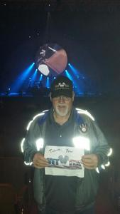 Dennis attended Brit Floyd Eclipse World Tour 2018 '45 Years of the Dark Side of the Moon' on May 10th 2018 via VetTix