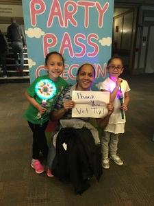Casey attended Peppa Pig Live! on May 17th 2018 via VetTix