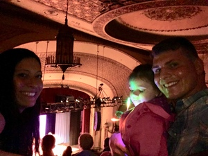 Paul attended Peppa Pig Live! on May 17th 2018 via VetTix