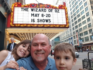jason attended The Wizard of Oz - Opening Night on May 8th 2018 via VetTix