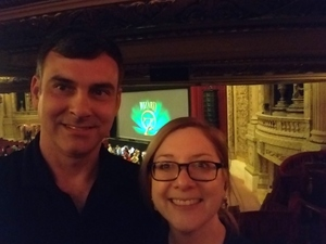 William attended The Wizard of Oz on May 9th 2018 via VetTix