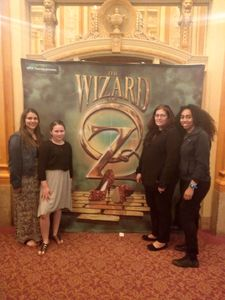 Mayra attended The Wizard of Oz on May 9th 2018 via VetTix