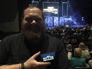 Caleb attended Maks, Val and Peta Live on Tour: Confidential on May 4th 2018 via VetTix